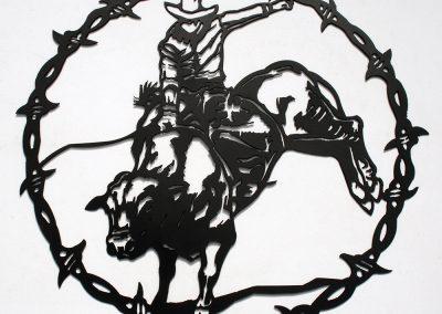 Barbed Bucking Bull