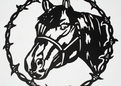 Barbed Horse 2