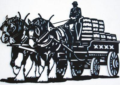 XXXX Brewery Wagon
