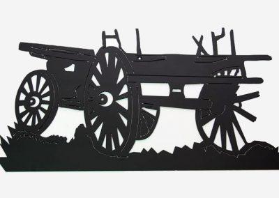 Broken Freight Wagon