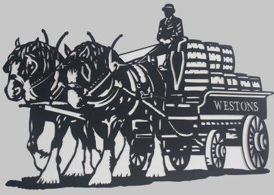 Westons Brewery Wagon
