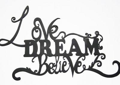 Love Dream Believe