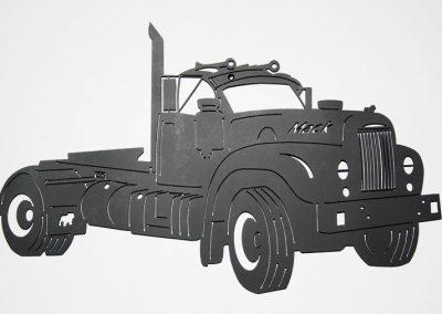 B Model Mack Truck