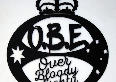 OBE Over Bloody Eighty
