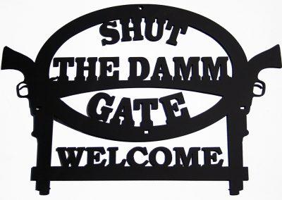Shut the Damn Gate