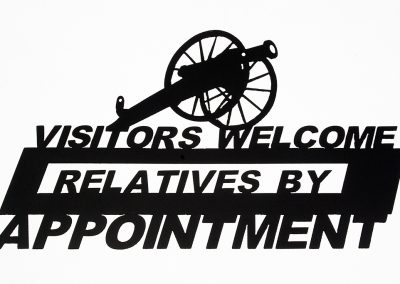 Visitors Welcome