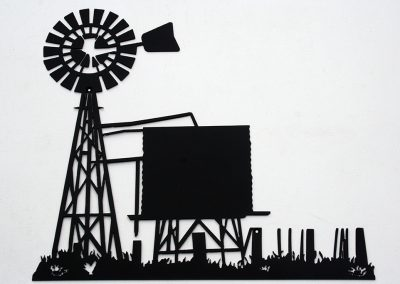 Windmill and Tank